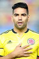 Colombia's Radamel Falcao during international friendly match. June 7,2017.(ALTERPHOTOS/Acero)