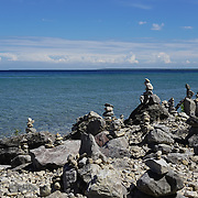 """Cairn on Mackinac Island"" <br />