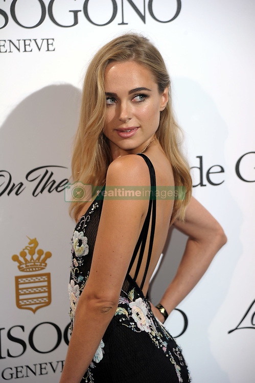 """DeGrisogono """"Love On The Rocks"""" Party - The 70th Annual Cannes Film Festival. 24 May 2017 Pictured: Kimberley Garner. Photo credit: kilmax / MEGA TheMegaAgency.com +1 888 505 6342"""