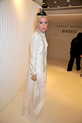 DAPHNE GUINNESS at a dinner in honour of design label Rodarte held at the Fifth Floor Restaurant, Harvey Nichols, Knightsbridge, London on 3rd June 2009.