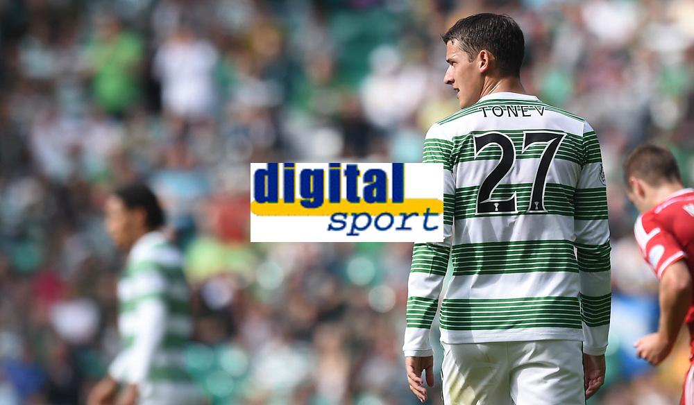 13/09/14 SCOTTISH PREMIERSHIP<br /> CELTIC v ABERDEEN<br /> CELTIC PARK - GLASGOW<br /> Bulgarian star Aleksandar Tonev makes his debut for Celtic