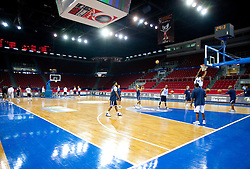 Players of the USA Senior Men's National Team during practice prior to the 2010 World Championships of Basketball on August 27, 2010 at Abdi Ipekci Arena in Istanbul, Turkey. (Photo by Vid Ponikvar / Sportida)
