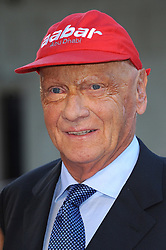 Niki Lauda dies aged 70. 16 Feb 2014 Pictured: Niki Lauda. Photo credit: Chris Joseph/Capital Pictures/MEGA TheMegaAgency.com +1 888 505 6342