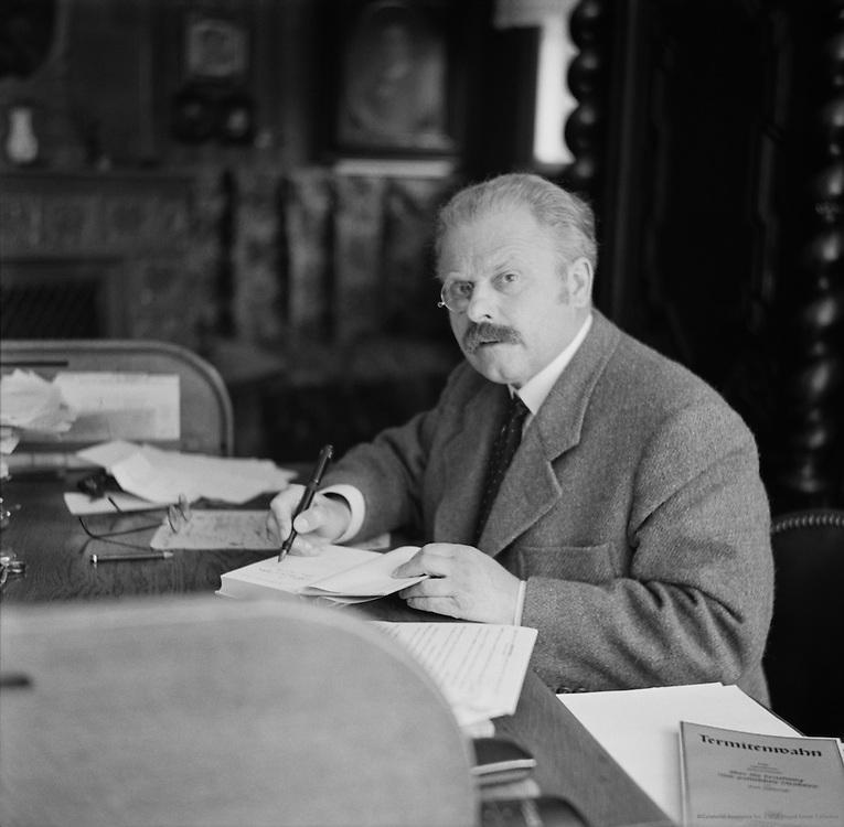 Erwin Guido Kolbenheyer, German Author and Poet, 1937