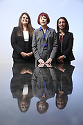 SHOT 12/4/19 11:34:17 AM - McGuane & Hogan, P.C., a Colorado family law firm located in Denver, Co. Includes attorneys Kathleen Ann Hogan, Halleh T. Omidi and Katie P. Ahles. (Photo by Marc Piscotty / © 2019)