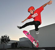 Youth Skateboarding Action Sports