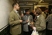 RICHARD DYER AND ROBIN DUTT, Andreas Hofer. This Island Earth. Hauser & Wirth London<br />196a Piccadilly. 30 MARCH 2006. ONE TIME USE ONLY - DO NOT ARCHIVE  © Copyright Photograph by Dafydd Jones 66 Stockwell Park Rd. London SW9 0DA Tel 020 7733 0108 www.dafjones.com