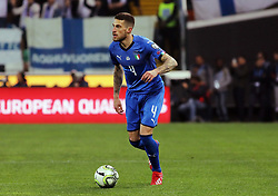 "March 23, 2019 - Udine, Italia - Foto LaPresse/Andrea Bressanutti.23/03/2019 Udine (Italia).Sport Calcio.Italia vs. Finlandia - European Qualifiers - Stadio ""Dacia Arena"".Nella foto: biraghi..Photo LaPresse/Andrea Bressanutti.March  23, 2019 Udine (Italy).Sport Soccer.Italy vs Finland - European Qualifiers  - ""Dacia Arena"" Stadium .In the pic: biraghi (Credit Image: © Andrea Bressanutti/Lapresse via ZUMA Press)"