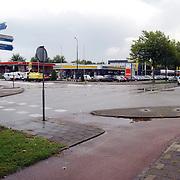 Kruising Ambachtsweg - Bestevear Huizen word verbouwd voor een rotonde