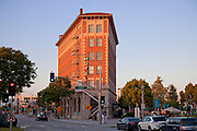 Culver Hotel in downtown Culver City, Culver Blvd, Los Angeles, California, USA