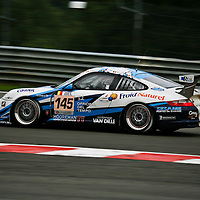 #145, Porsche 997 GT3 Cup S, First Motorsport (drivers: Francois Duval, Christian Kelders, Philippe Greich, Christophe Kerkhove) at the Spa 24H on 2 August 2008