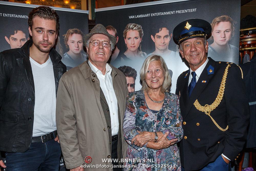 NLD/Amsterdam/20150916 - Perspresentatie Baantjer Live 2, Nienke Sikkens, Beau Schneider, Peter Tuinman, Peter Romer