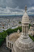 View from La Basilique Du Sacre-Coeur