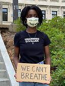 Black Lives Matter-George Floyd Protest Mississippi