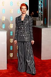 Sandy Powell attending the 72nd British Academy Film Awards held at the Royal Albert Hall, Kensington Gore, Kensington, London.