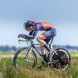 EMMEN (NED) June 16: <br />CYCLING <br />Dutch Nationals Time Trail men U23 Marijn Maas