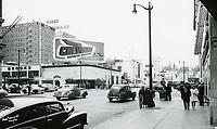 1948 Postcard of NW corner of Hollywood Blvd. & Vine St.