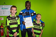 Forest Green Rovers Drissa Traoré(4) during the EFL Sky Bet League 2 match between Forest Green Rovers and Exeter City at the New Lawn, Forest Green, United Kingdom on 9 September 2017. Photo by Shane Healey.