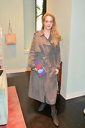 DAISY DE VILLENEUVE at a 'Tropical fete' at Kate Spade New York, 2 Symons Street, Sloane Square, London in celebration of the Chelsea Flower Show on 22nd May 2014.