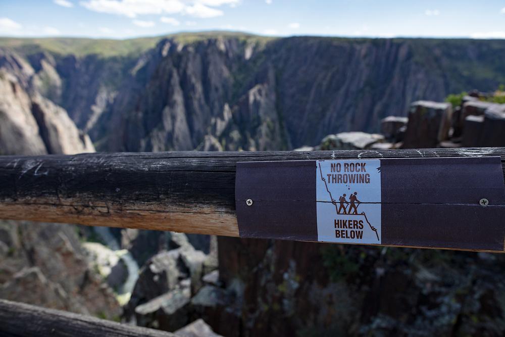 Black Canyon of the Gunnison National Park North Rim Views