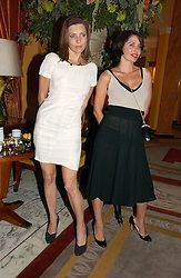 Left to right, JEMIMA FRENCH and SADIE FROST at a party to celebrate the opening of The Bar at The Dorchester, Park Lane, London on 27th June 2006.<br /><br />NON EXCLUSIVE - WORLD RIGHTS