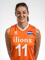 22-05-2017 NED: Nederlands volleybalteam vrouwen, Utrecht<br /> Photoshoot met Oranje vrouwen seizoen 2017 / Anne Buijs #11