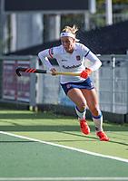 AMSTELVEEN - Pien Dicke (SCHC)  tijdens de hoofdklasse hockeywedstrijd dames, zonder publiek vanwege COVID-19, AMSTERDAM-SCHC (2-2). COPYRIGHT KOEN SUYK