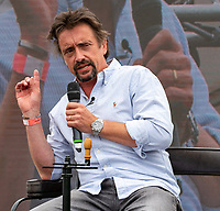 Richard Hammond at the The London Classic Car Show Syon Park london to launch  his new classic car restoration business 'The Smallest Cog' and talk about his passion for Classic cars ,at the Talks Theatre.,26th June 2021 photo by Mark Anton Smith