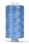 reel with blue thread