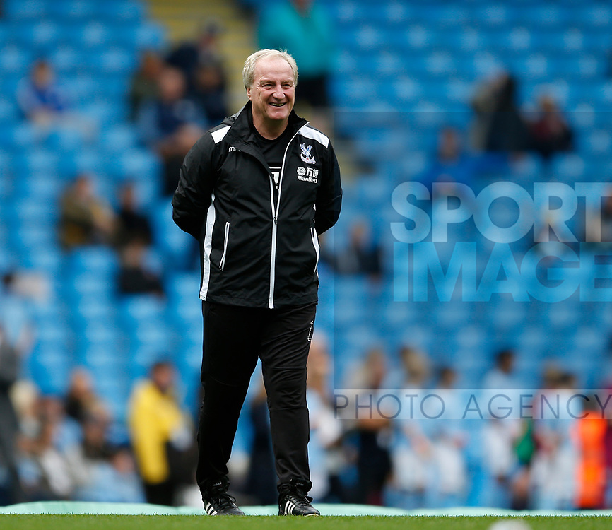 Ray Lewington Crystal Palace assistant manager during the premier league match at the Etihad Stadium, Manchester. Picture date 22nd September 2017. Picture credit should read: Simon Bellis/Sportimage