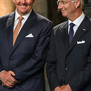 NLD/Maastricht/20140830 - Festivities on the occasion of the 200th jubilee of the Kingdom of the Netherlands in Maastricht - 200 Jaar Koninkrijk der Nederlanden, King Willem-Alexander and King Philippe van België