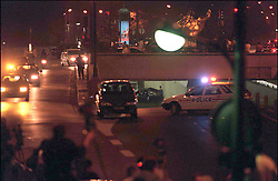 File photo taken on August 31, 1997 - NO CREDIT. 42571-25. Paris-France, 29/09/1997. Reconstitution of Princess Diana and Dodi Al Fayed's accident under Alma tunnel in Paris, they both died in the accident along with driver Henri Paul. Princess Diana died on August 31 1997 after suffering fatal injures in a car crash in the Pont de l'Alma road tunnel in Paris. Her companion Dodi Fayed and driver and security guard Henri Paul were also killed in the crash. Photo by ABACAPRESS.COM