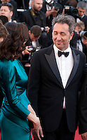 Actress Rachel Weisz and director Paolo Sorrentino, at the gala screening for the film Youth at the 68th Cannes Film Festival, Wednesday May 20th 2015, Cannes, France.