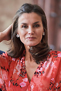 070519 Queen Letizia attends Closing of the 2nd Seminar on Patrimonial Education in the School