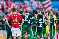 Teun Koopmeiners of AZ during the Dutch Toto KNVB Cup Final match between AZ Alkmaar and Feyenoord on April 22, 2018 at the Kuip stadium in Rotterdam, The Netherlands.