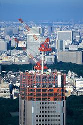 Cranes On Top Of Buildings
