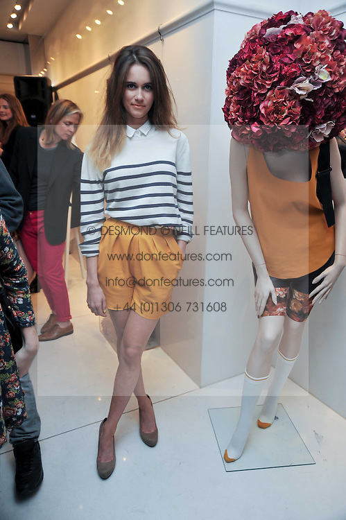 SUNDAY GIRL Jade Williams at the Mother of Pearl Launch at The Other Criteria, 36 New Bond Street, London W1 on 12th April 2011.