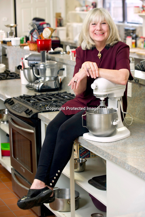 Editorial photography of Suzie Nibbles  in her restaurant in Fayetteville, Arkansas.