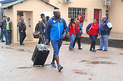 Johannesburg 14-10-18 South Africa v Zimbabwe T20I at Willowmore Park, Benoni. South African Proteas coach Ottis Gibson walks over puddles as he and his team arrive.<br /> Picture: Karen Sandison/African News Agency(ANA)