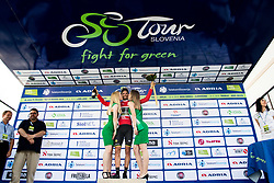 Luka Mezgec (SLO) of Mitchelton - Scott celebrates at trophy ceremony after 3rd Stage of 26th Tour of Slovenia 2019 cycling race between Zalec and Idrija (169,8 km), on June 21, 2019 in Slovenia. Photo by Matic Klansek Velej / Sportida