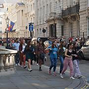 The return of the WestEndLive2021 in Trafalgar Square, London, UK.
