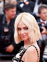 Chiara Ferragni at the Once Upon A Time... In Holywood gala screening at the 72nd Cannes Film Festival Tuesday 21st May 2019, Cannes, France. Photo credit: Doreen Kennedy