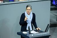 04 NOV 2020, BERLIN/GERMANY:<br /> Dr. Nina Scheer, MdB, SPD, spricht waehrend einer Debatte zur Klimaschutz-Politik, Plenum, Reichstagsgebaeude, Deutscher Bundestag<br /> IMAGE: 20201104-01-001<br /> KEYWORDS: Rede, Speech