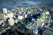 PA Capital Complex, Aerial View, Midtown Harrisburg, Pennsylvania