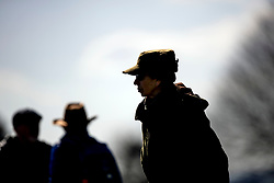 (right) Princess Anne at the Land Rover Gatcombe Horse Trials, on Gatcombe Park, Gloucestershire.