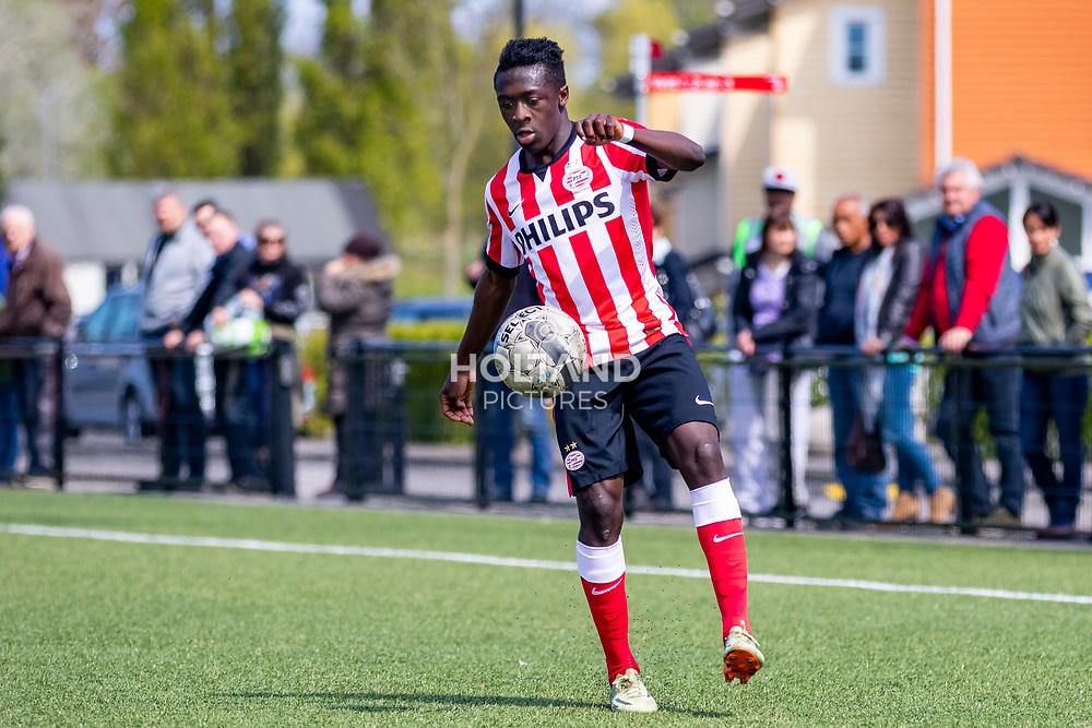 15-05-2015: Soccer: Sparta Rotterdam U16 v PSV U16: Rotterdam<br /> #11 Bobby Adekanye (PSV)<br /> Seizoen 2014-2015