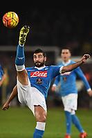 Raul Albiol Napoli <br /> Napoli 30-11-2015 Stadio San Paolo Football Calcio 2015/2016 Serie A Napoli - Inter Foto Andrea Staccioli / Insidefoto