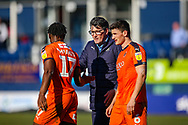 Luton Town interim manager Mick Harford at the end of the game during the EFL Sky Bet League 1 match between Luton Town and Coventry City at Kenilworth Road, Luton, England on 24 February 2019.