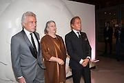 GIANCARLO GIAMMETTI; GWYN MILES; VALENTINO GARAVANI; ,  Valentino: Master of Couture - private view. Somerset House, London. 28 November 2012