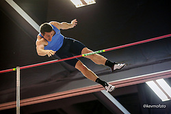 2020 USATF Indoor Championship<br /> Albuquerque, NM 2020-02-14<br /> photo credit: © 2020 Kevin Morris<br /> mens pole vault